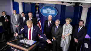 Opinion: NPR's Evolving Coverage Of Live White House Coronavirus Briefings