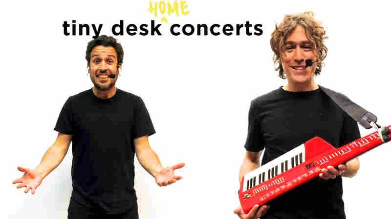 The Pop Ups: Tiny Desk (Home) Concert