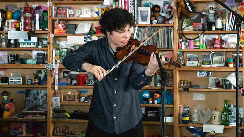 Grammy-Winning Fiddler Augustin Hadelich Plays The Tiny Desk